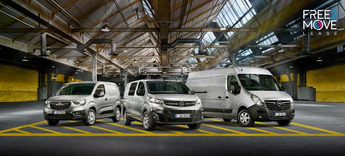 Nuestra gama de vehículos comerciales