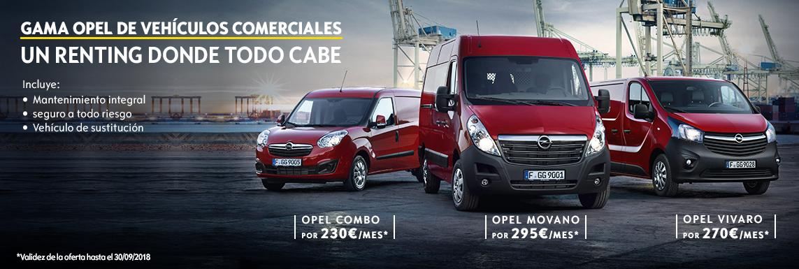 Vehículos comerciales desde 9.900€